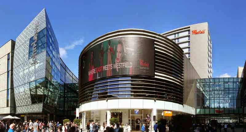 Shopping Westfield Stratford City em Londres