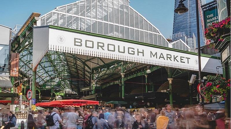 Borough Market em Londres