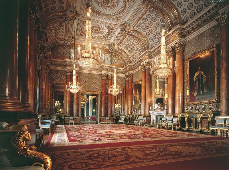 Partes do Palácio de Buckingham