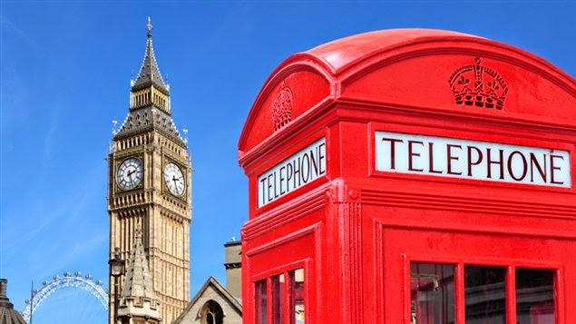 Telefone de Londres - Inglaterra