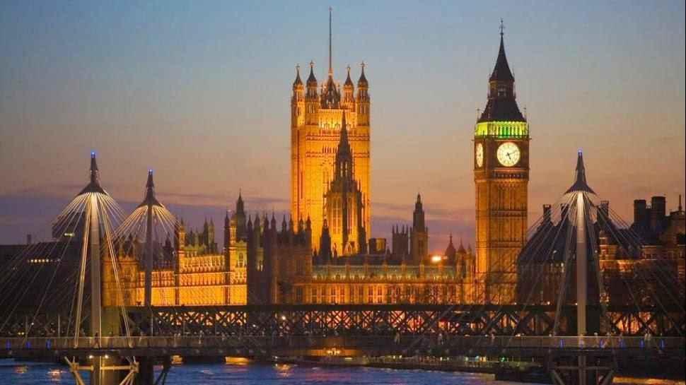 Noite em Londres - Inglaterra