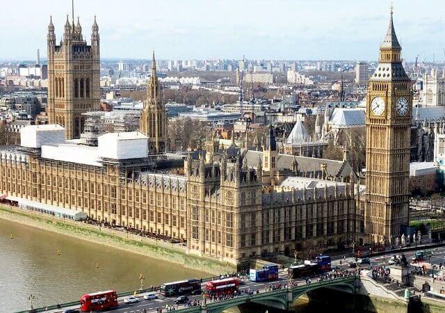 Pontos turísticos em Londres