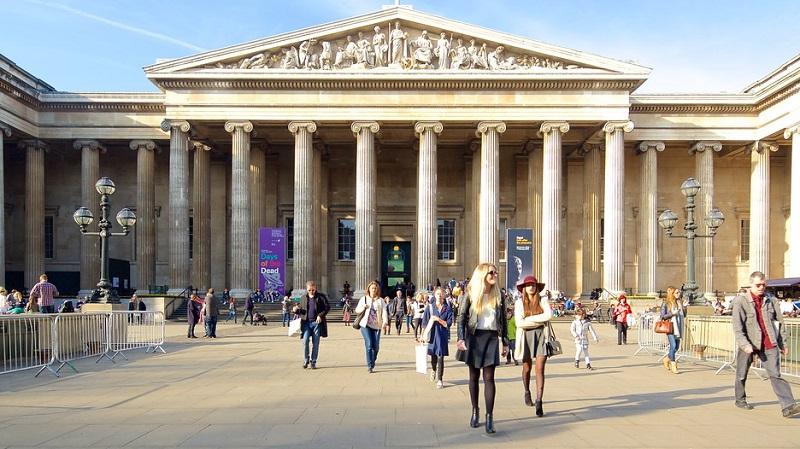 História do Museu Britânico em Londres