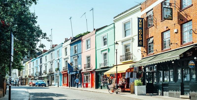 Notting Hill em Londres