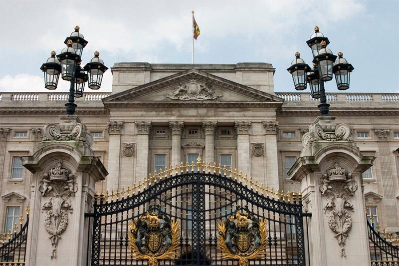 Fachada do Palácio de Buckingham