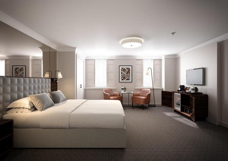 Quarto do Strand Palace Hotel em Londres