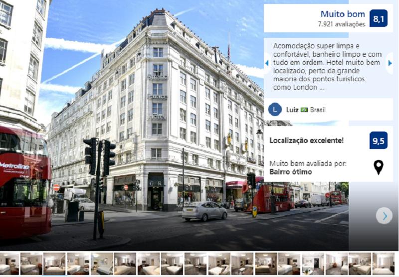 Strand Palace Hotel em Londres