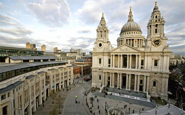 St Paul's Cathedral em Londres