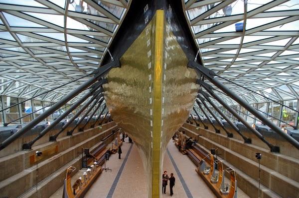 Visita ao Barco Cutty Sark em Londres