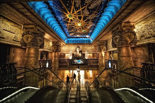 Interior da Harrods em Londres