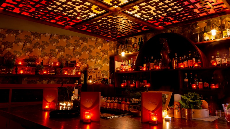 Opium Bar em Londres