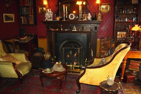 Casa e Museu Sherlock Holmes em Londres