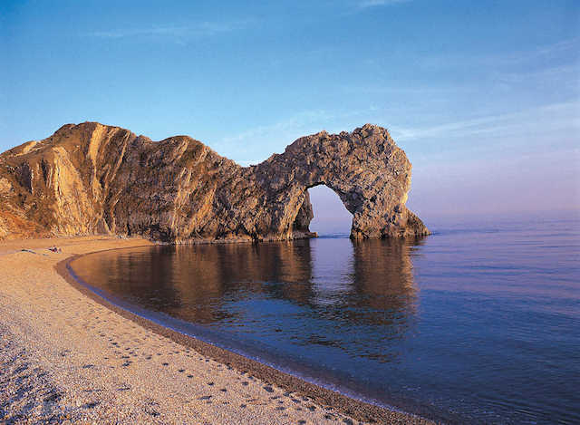 Durdle Door na Jurassic Coast