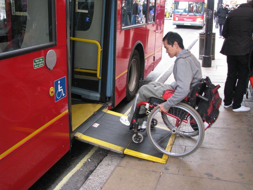 Acessibilidade para deficientes físicos em Londres