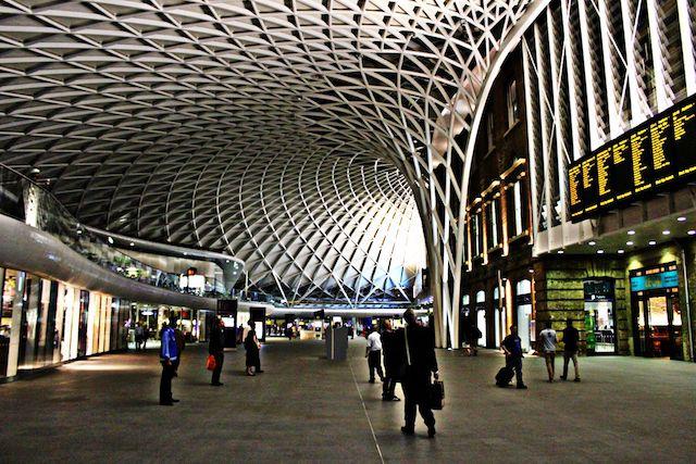 Estação King's Cross em Londres