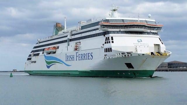 Irish Ferries até Dublin