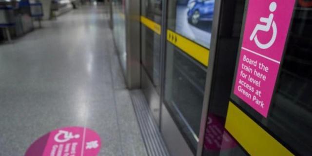 Transporte acessível em Londres