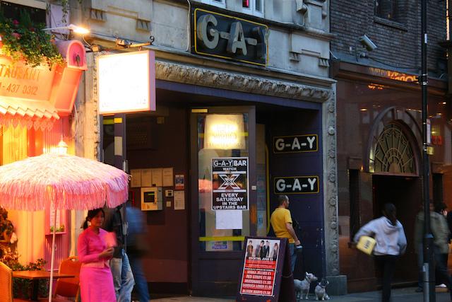 Bar GLS e LGBT em Londres