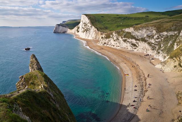 Jurassic Coast na Inglaterra