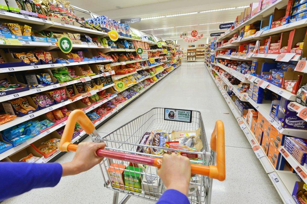 Supermercado em Londres