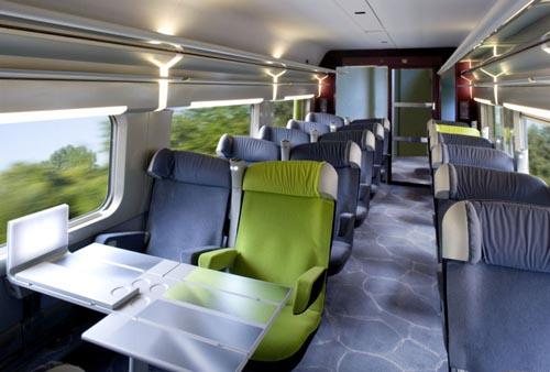 Trem de Londres a Edimburgo