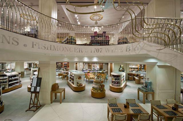 Loja de departamentos Fortnum & Mason em Londres