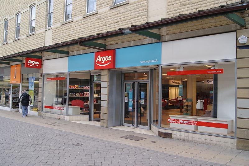 Loja Argos em Londres
