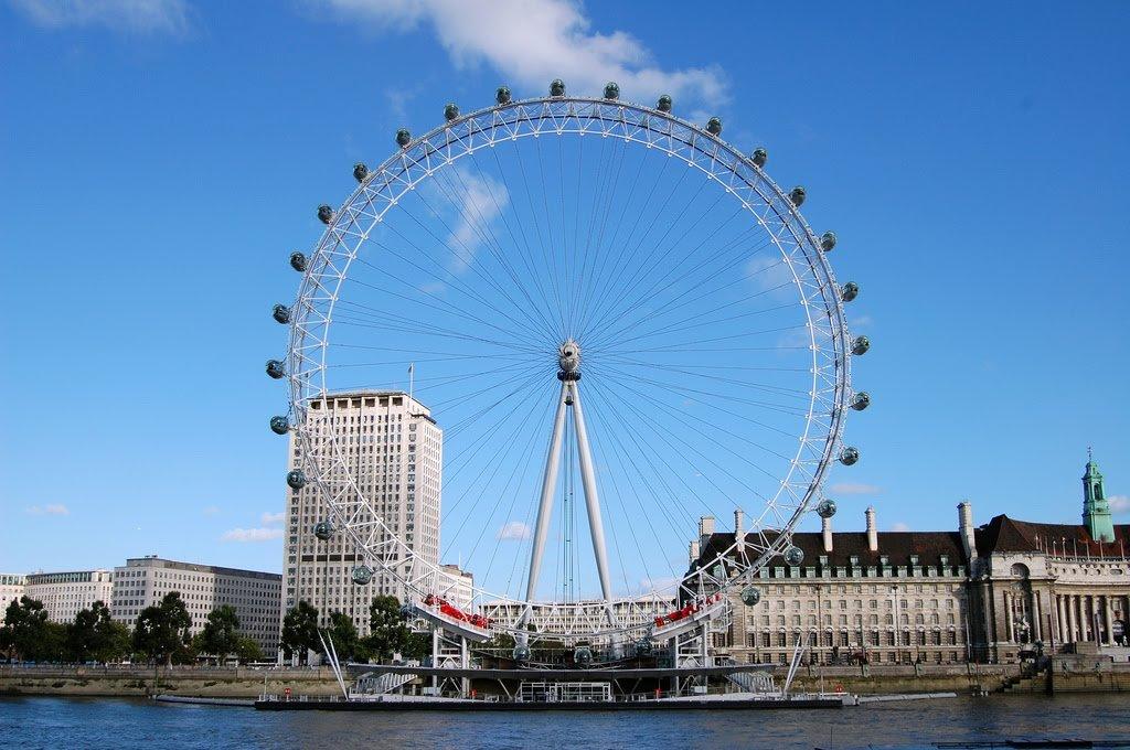 Roda-gigante London Eye em Londres