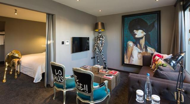Quarto do The Exhibitionist em Londres