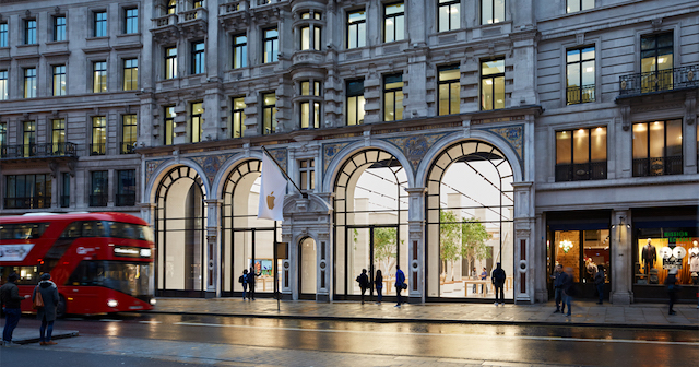 Loja Apple Regent Street em Londres