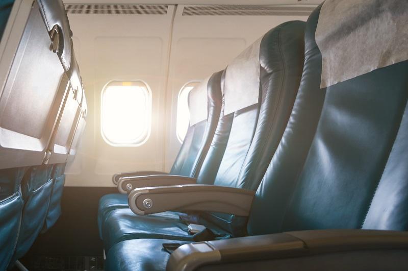 Viagem de avião para Londres