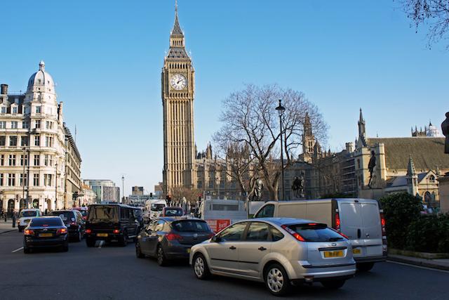 Dirigindo em Londres