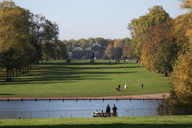 Kensington Garden em Londres