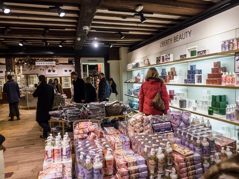 Loja de deparatamentos Liberty em Londres