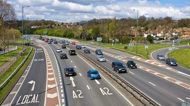Estrada em Londres