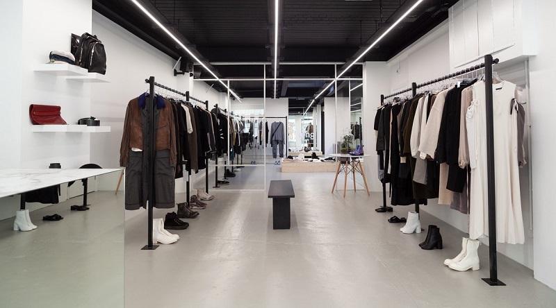 Loja de roupas em Londres