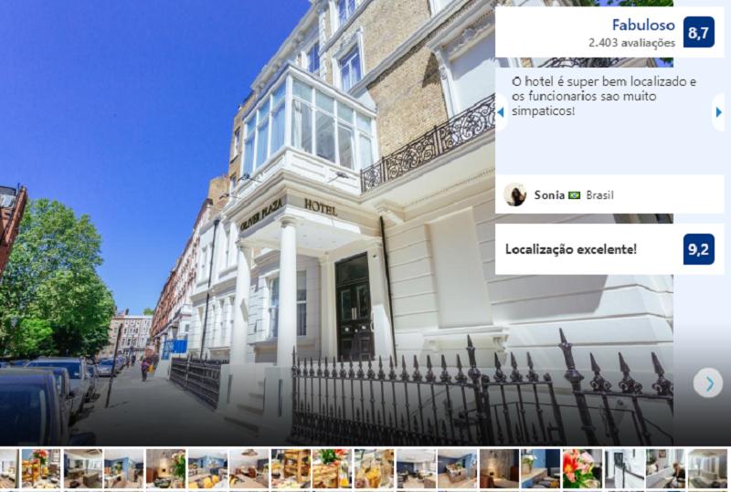 Oliver Plaza Hotel em Londres
