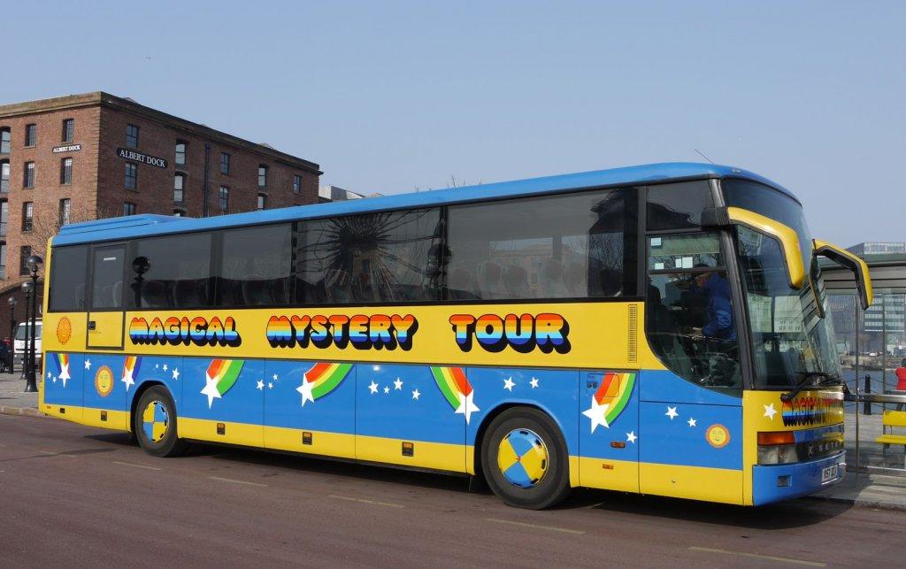 Magical Mistery Tour em Liverpool