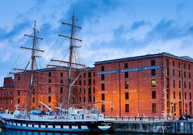 Museu Marítimo de Merseyside em Liverpool