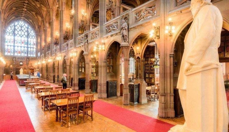 Biblioteca da Universidade de Manchester, John Rylands Library