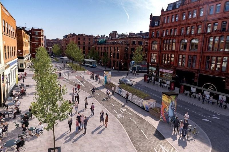 Centro turístico de Manchester