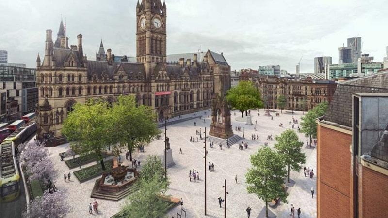 Albert Square em Manchester