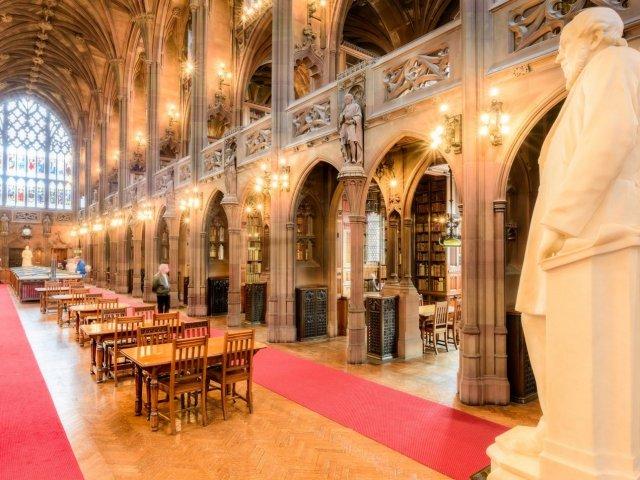Biblioteca John Rylands em Manchester