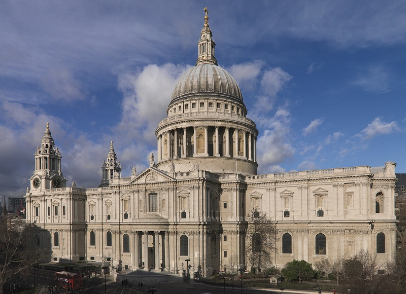 St Pau's Cathedral, Londres