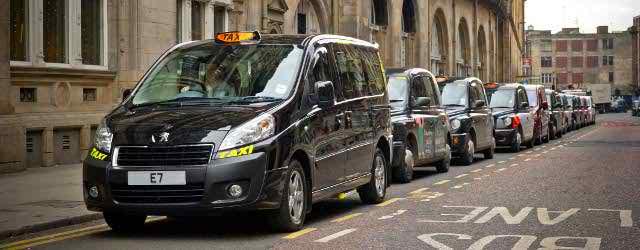 Táxi em Manchester