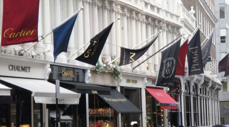Bond Street em Londres