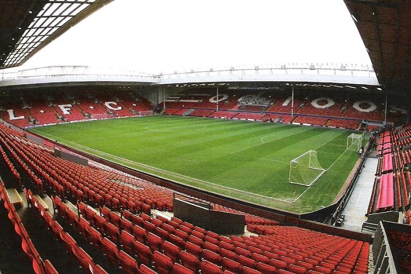 Passeio esportivo em Liverpool
