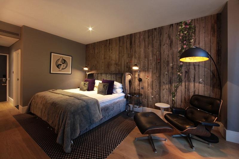 Quarto do Hotel Malmaison em Londres