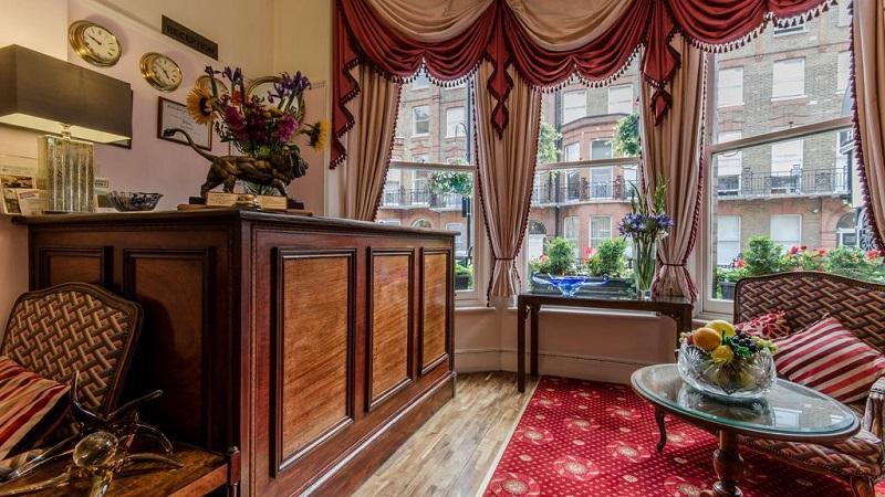Quarto do Hotel La Place em Londres