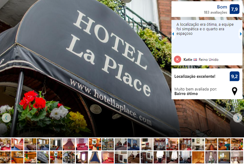 Hotel La Place em Londres